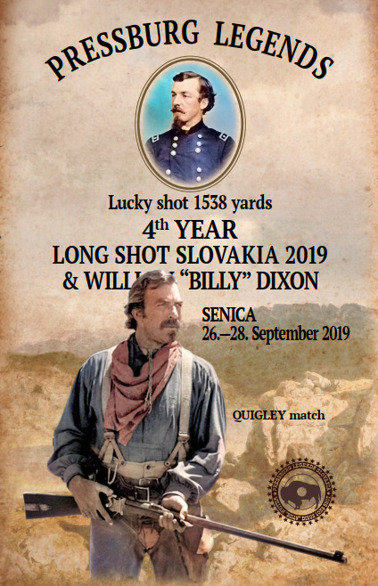 Long Shot Slovakia & William Billy Dixon Lucky shot 1538 yards